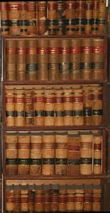 law book shelf